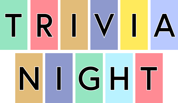 Alumni Association Trivia Night (Saturday, Nov 9)